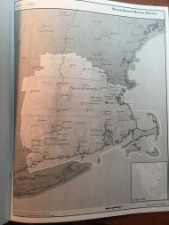 Map of the Massachusetts Boston Mission
