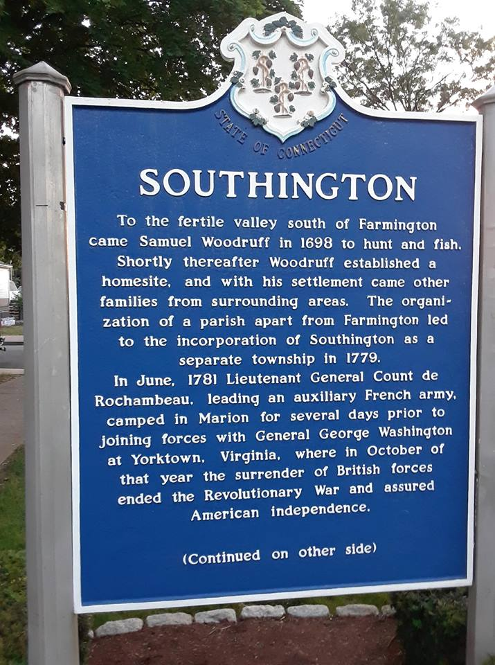 SouthingtonCTPlaquard